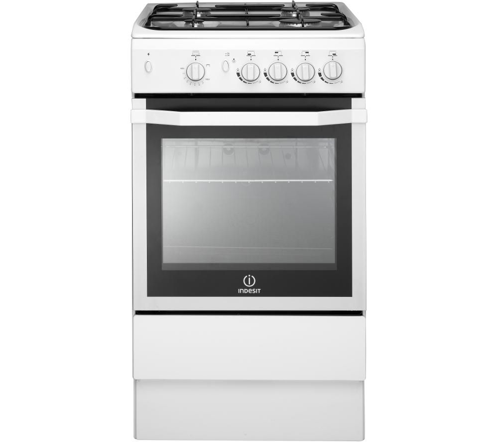 INDESIT I5GG Gas Cooker - White