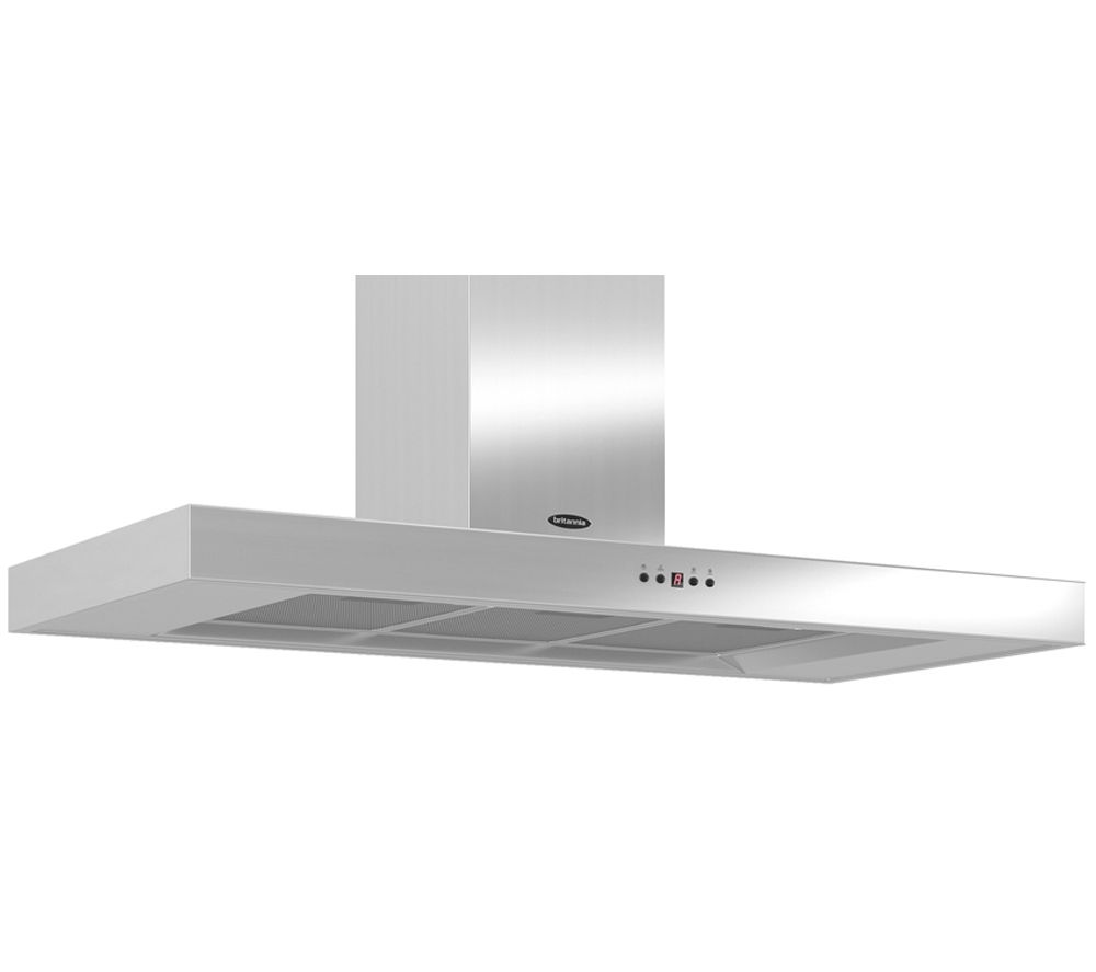 Image of BRITANNIA Arioso TPK7088A11S Chimney Cooker Hood - Stainless Steel, Stainless Steel