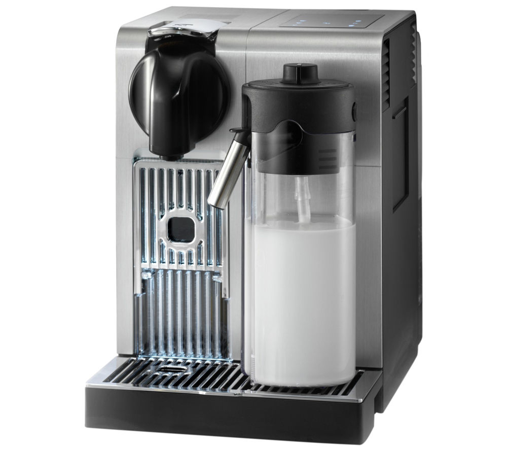 NESPRESSO  Nespresso Lattissima Pro EN750MB Coffee Machine  Silver & Black Silver