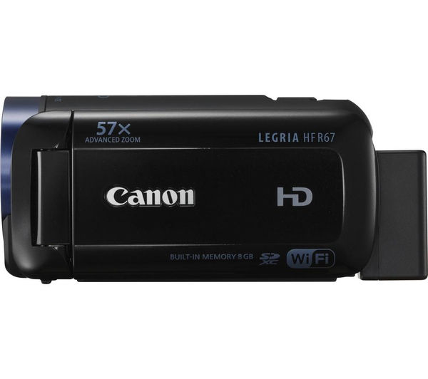 Buy CANON LEGRIA HF R67 Full HD Camcorder - Black | Free ...