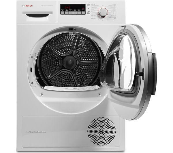 Tumble Dryer Temperature ~ Buy bosch wtw gb heat pump tumble dryer white free