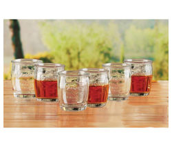 EDDINGTONS Yorkshire Medallion Shot Glasses