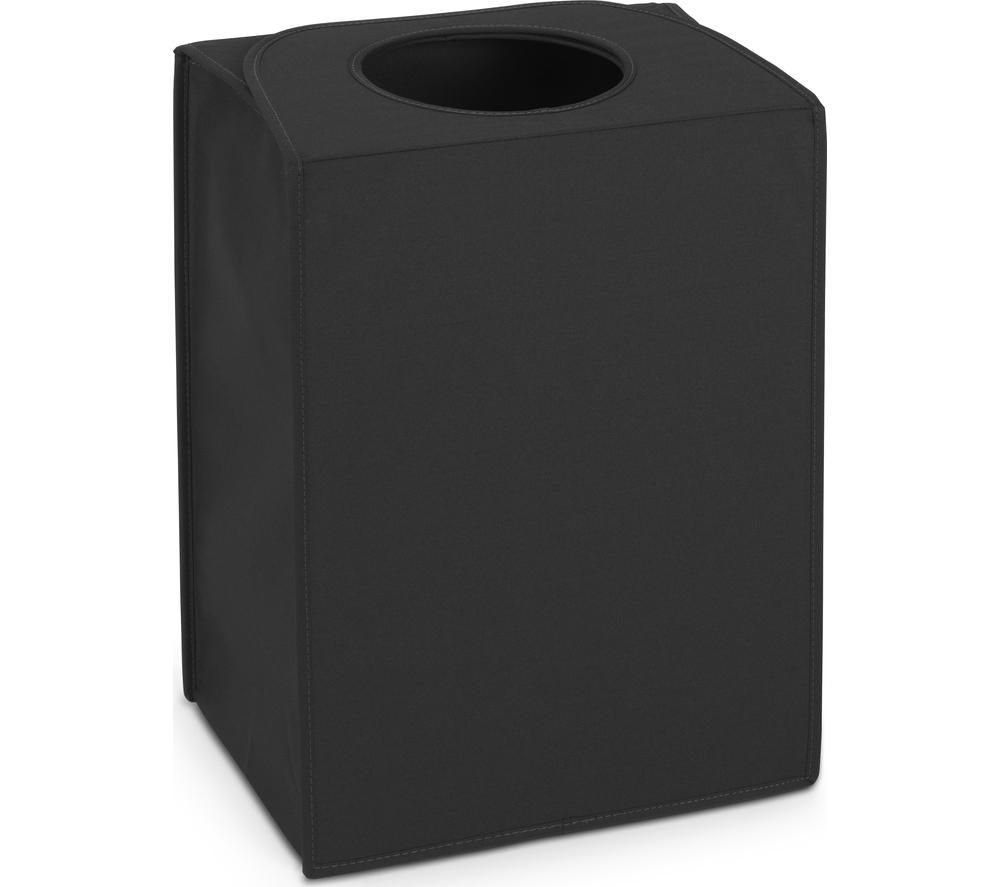 BRABANTIA Rectangular 55-litre Laundry Bag - Black
