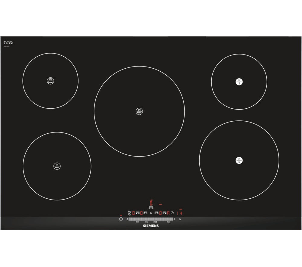 SIEMENS EH875FM27E Electric Induction Hob - Black