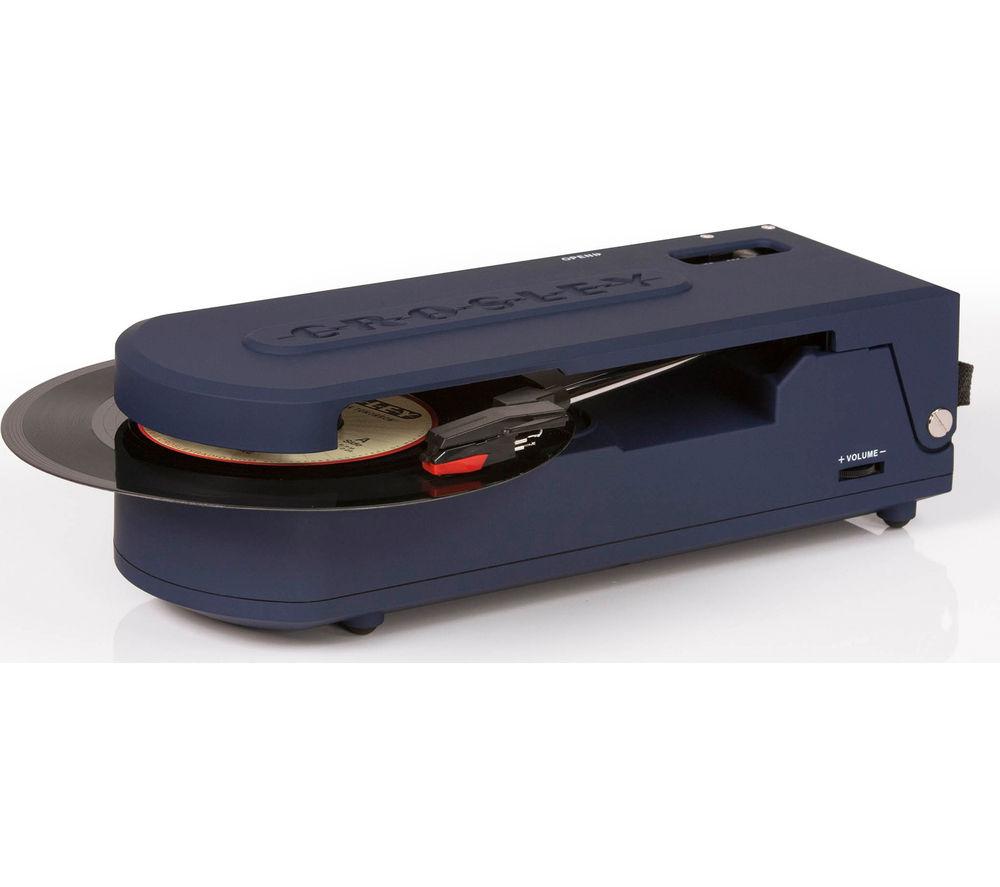 CROSLEY Revolution Portable USB Turntable - Blue