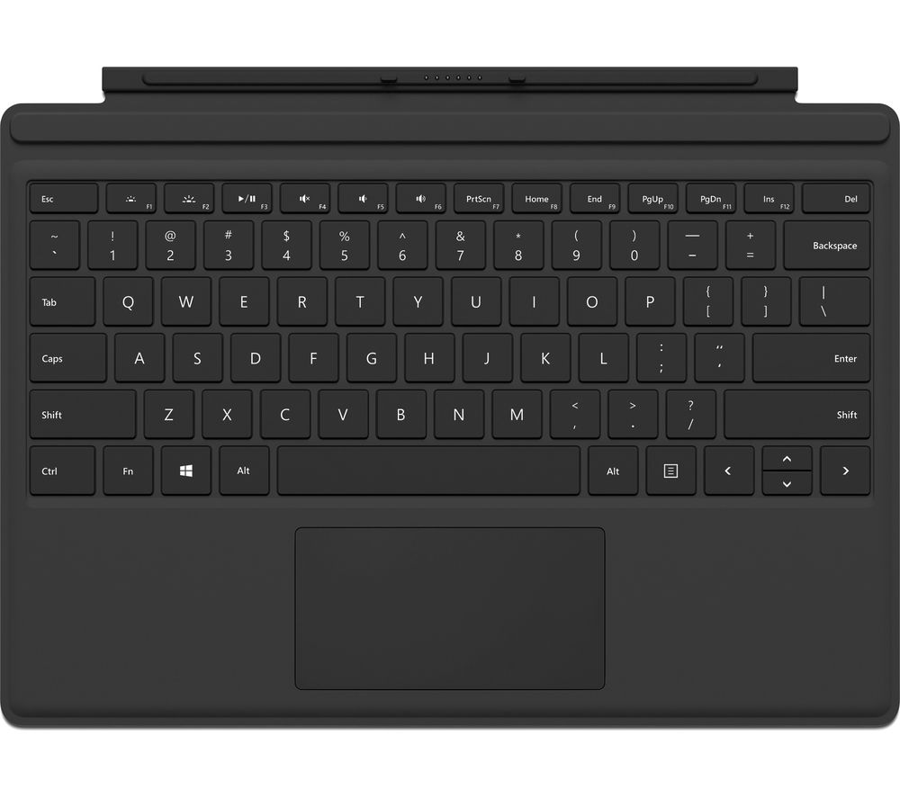 MICROSOFT Surface Pro 4 Typecover - Black