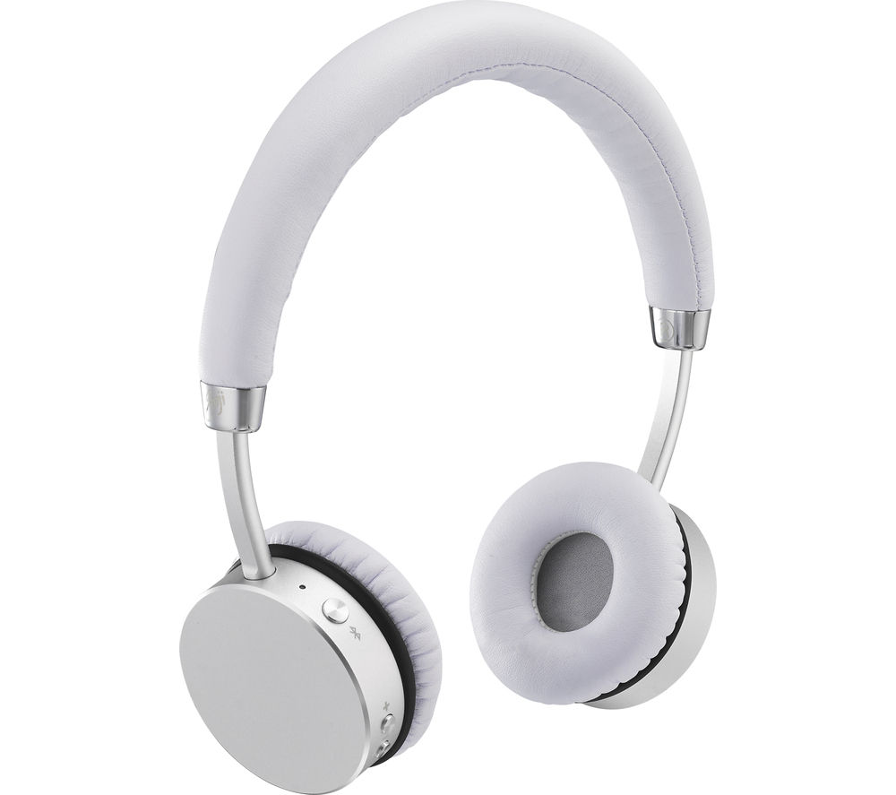 GOJI COLLECTION GTCONSL16 Wireless Bluetooth Headphones - Silver