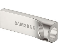 SAMSUNG BAR USB 3.0 Memory Stick - 128 GB, Silver
