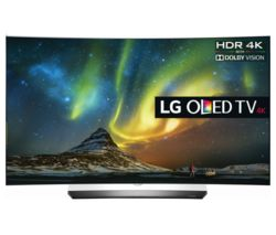 "LG OLED55C6V Smart 3D 4K Ultra HD HDR 55"" Curved OLED TV"