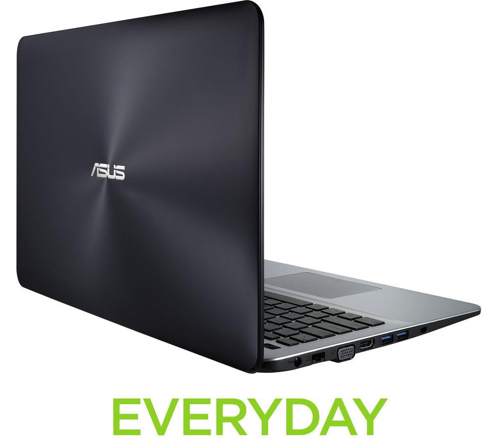 """Image of ASUS X555LA 15.6"""" Laptop - Black"""