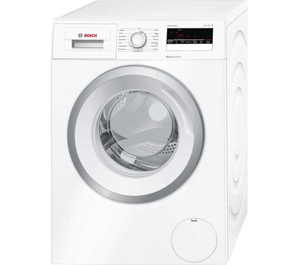 BOSCH  Serie 4 WAN28280GB Washing Machine  White White