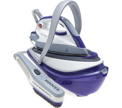 HOOVER IRONsteam SRM4110B Steam Generator Iron - Purple & White