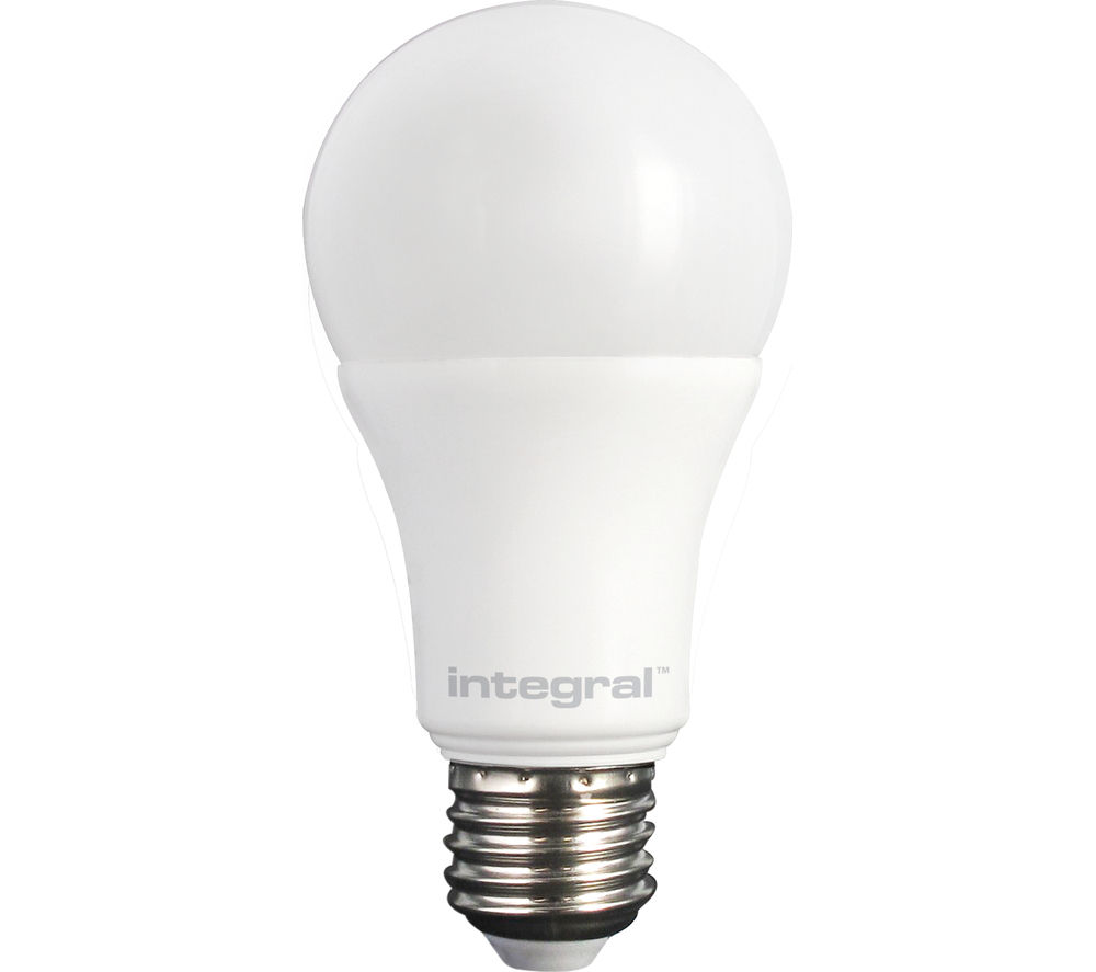 INTEGRAL  806lm E27 Dimmable LED Light Bulb - Warm White, White