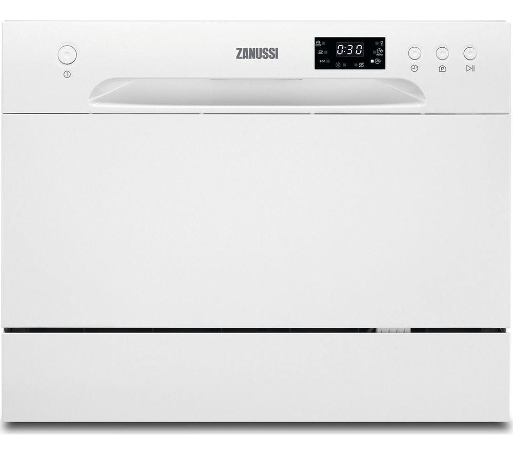 ZANUSSI  ZDM17301WA Compact Dishwasher  White White