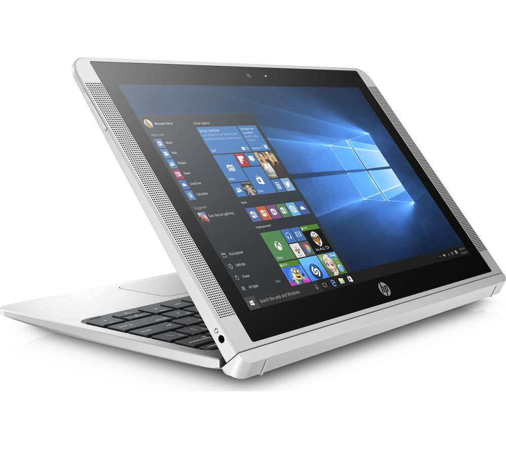 "HP x2 10-p050na 10.1"" Touchscreen 2 in 1 - Silver + Office 365 Personal"