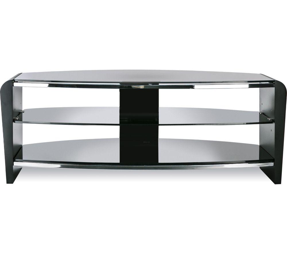 ALPHASON Francium 1100 TV Stand - Black