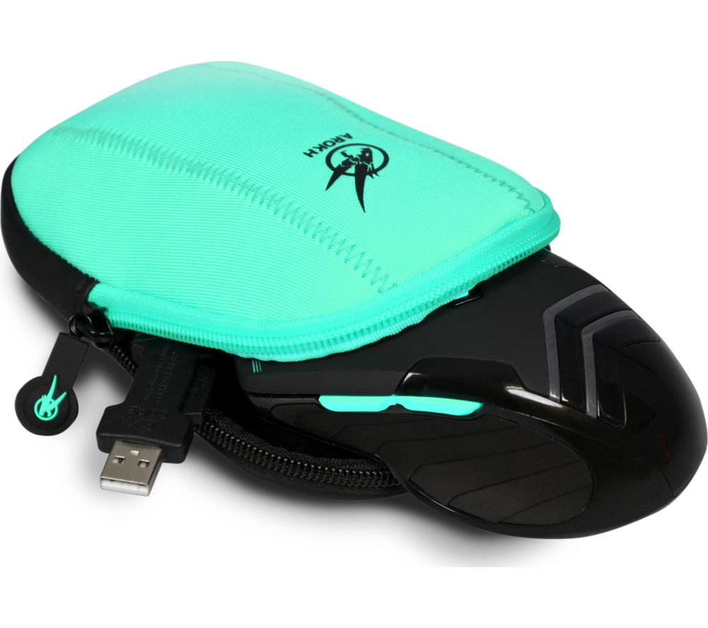 PORT DESIGNS Arokh Gaming Mouse Pouch - Black & Green