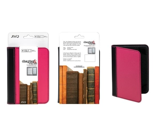JIVO TECHN Kindle Chapter & Verse Case - Pink