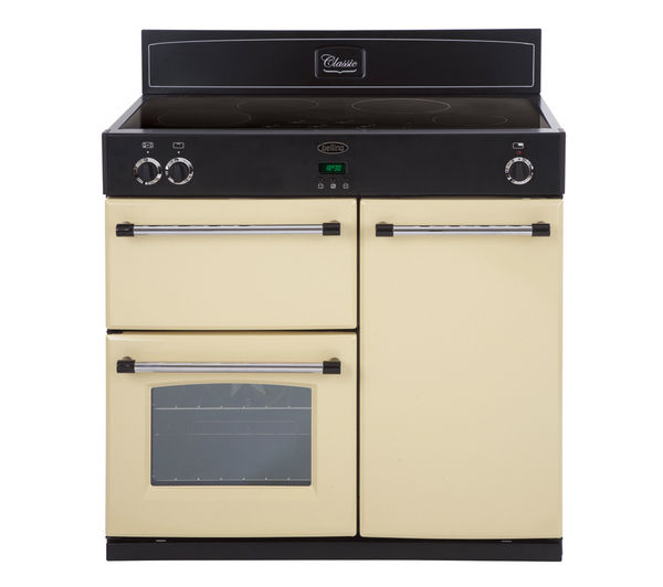 buy belling classic 900ei electric induction range cooker. Black Bedroom Furniture Sets. Home Design Ideas