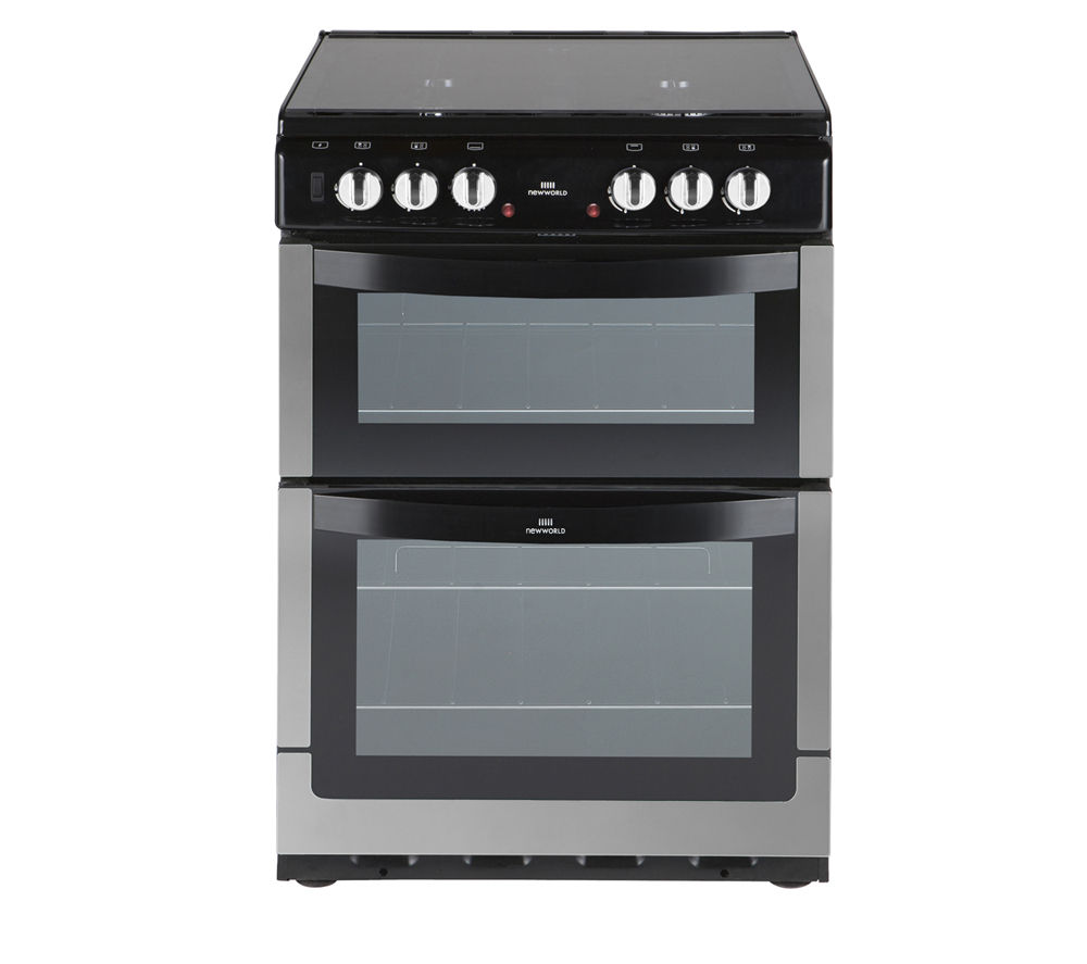 NEW WORLD 601DFDOL Dual Fuel Cooker - Stainless Steel