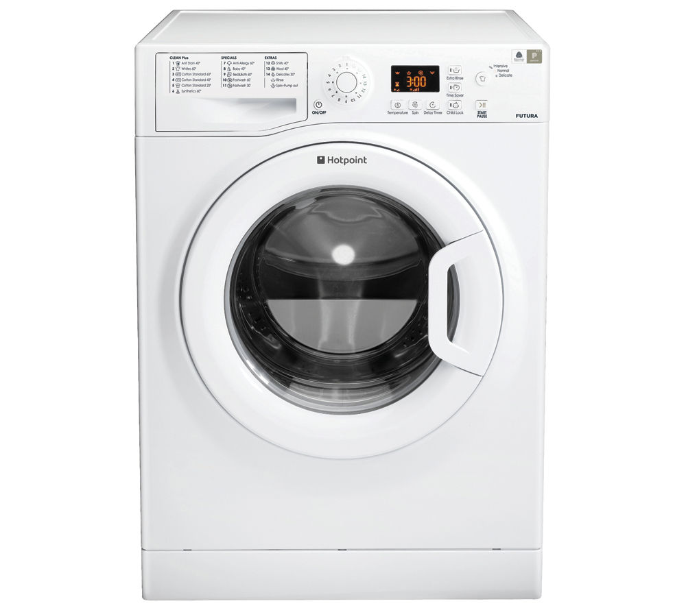 HOTPOINT WMFG 741P Washing Machine - White