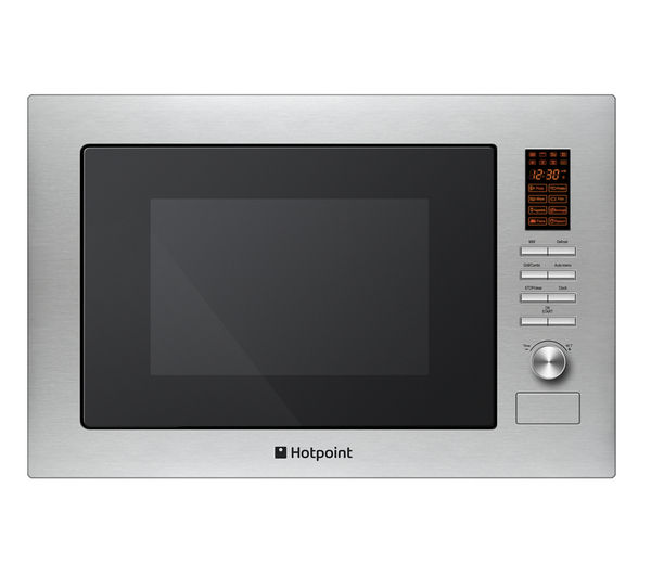 Hotpoint MWH 222.1 X Builtin Microwave with Grill  Stainless Steel Stainless Steel