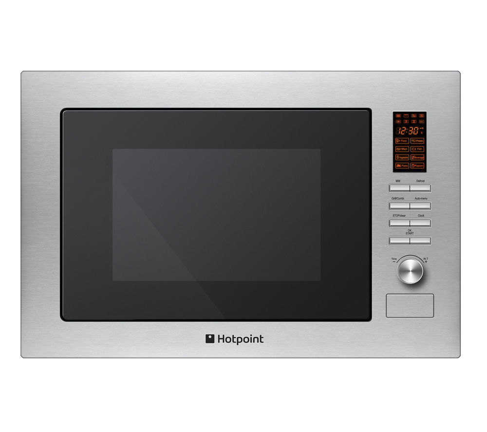 HOTPOINT MWH 222.1 X Built-in Microwave with Grill - Stainless Steel