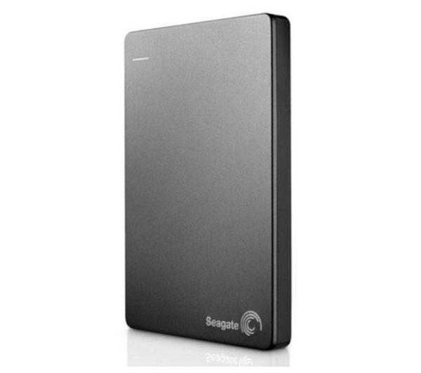 SEAGATE Backup Plus Portable Hard Drive - 1 TB, Silver