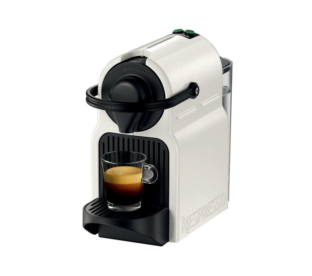 NESPRESSO  XN100140 Nespresso Inissia Coffee Machine  White White