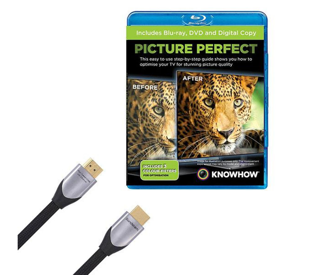 KNOWHOW Silver Series S1HDM214X HDMI Cable with Picture Perfect