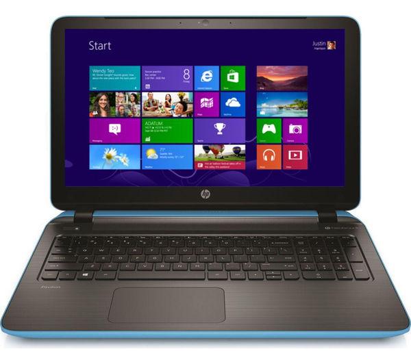 Hp Pavilion 15p086sa Refurbished 15.6 Laptop  Blue Blue