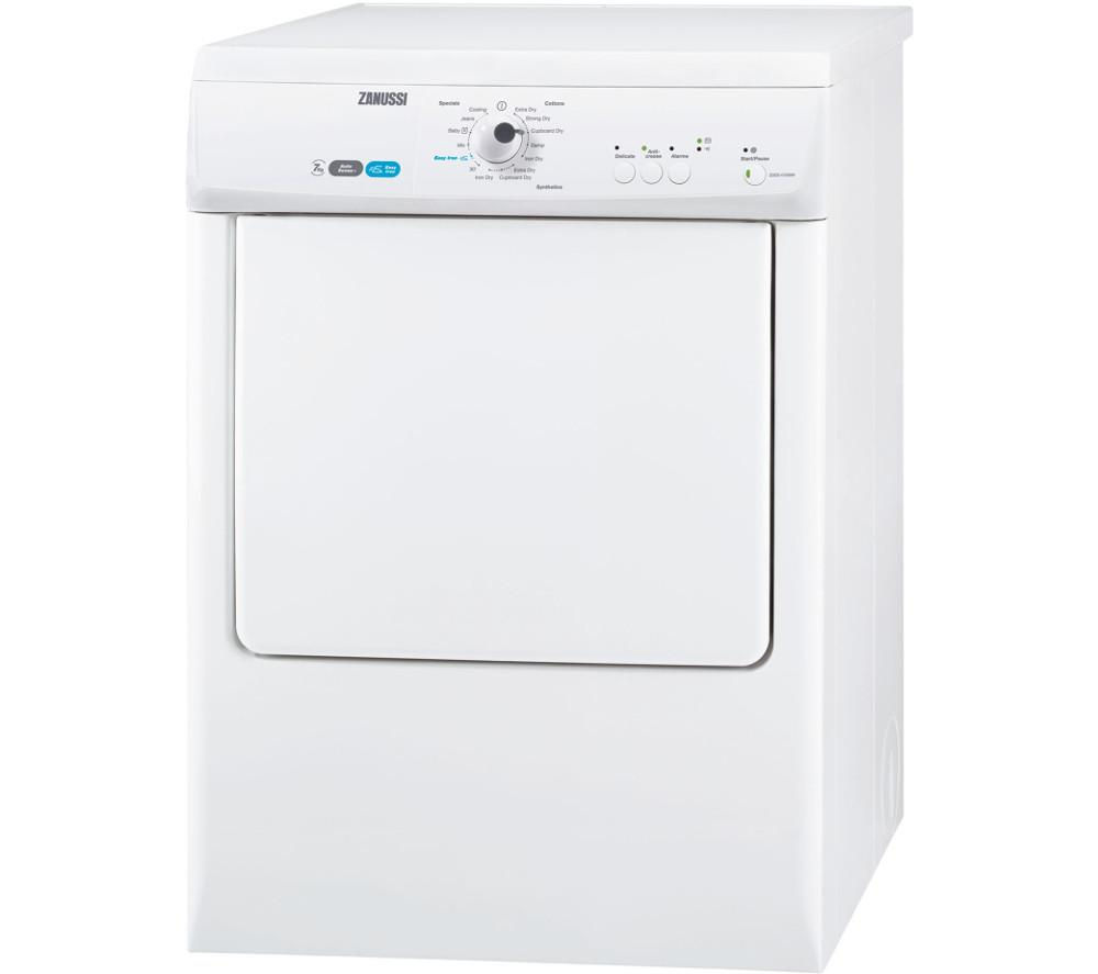 Component Tumble Dryer ~ Buy zanussi zdeb w vented tumble dryer white free