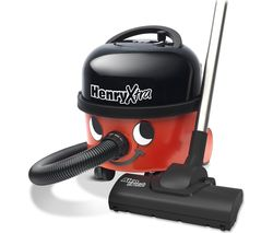 NUMATIC Henry Xtra HVX200-A2 Cylinder Vacuum Cleaner - Red