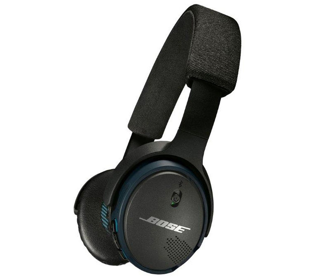 buy bose soundlink wireless bluetooth headphones black free delivery currys. Black Bedroom Furniture Sets. Home Design Ideas