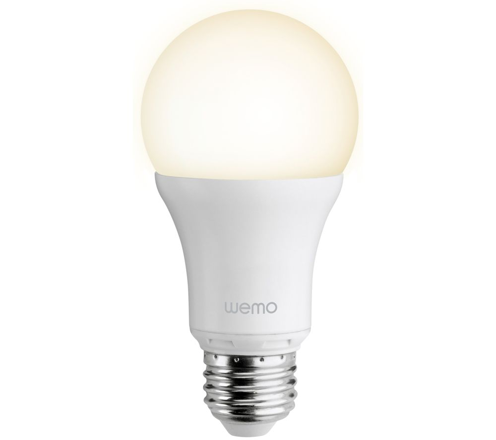 Buy Belkin F7c033vfe27 Wemo Smart Led Bulb White Free Delivery Currys