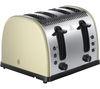 RUSSELL HOBBS Legacy 21302 4-Slice Toaster - Cream