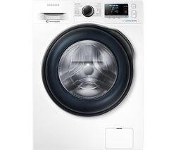 SAMSUNG ecobubble WW80J6410CW Washing Machine - White