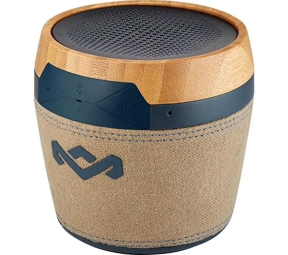 Click to view more of HOUSE OF MARLEY  Chant Mini Portable Wireless Speaker - Navy, Navy