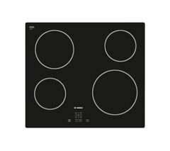 BOSCH PKE611D17E Electric Ceramic Hob - Black