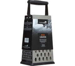 MASTER CLASS Four Sided Box Grater - Stainless Steel