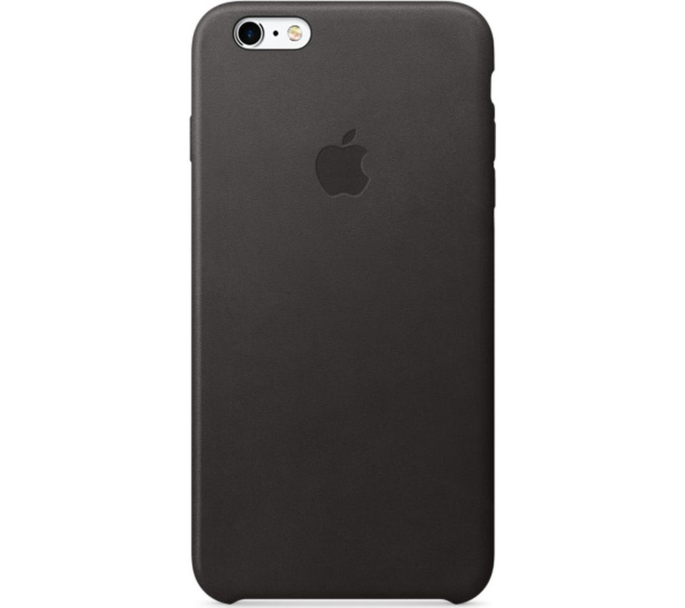 APPLE Leather iPhone 6s Plus Case - Black