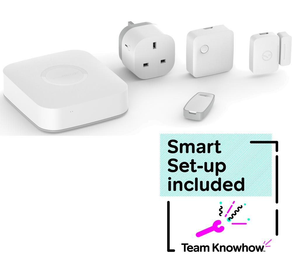 knowhow smartthings starter kit smart home installation. Black Bedroom Furniture Sets. Home Design Ideas