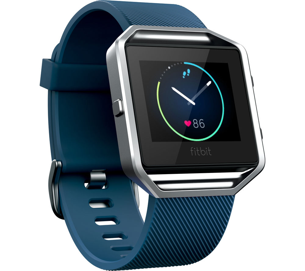 FITBIT Blaze - Blue, Small