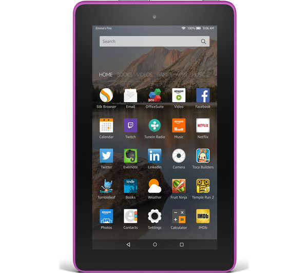 Image of AMAZON Fire 7 Tablet - 16 GB, Magenta
