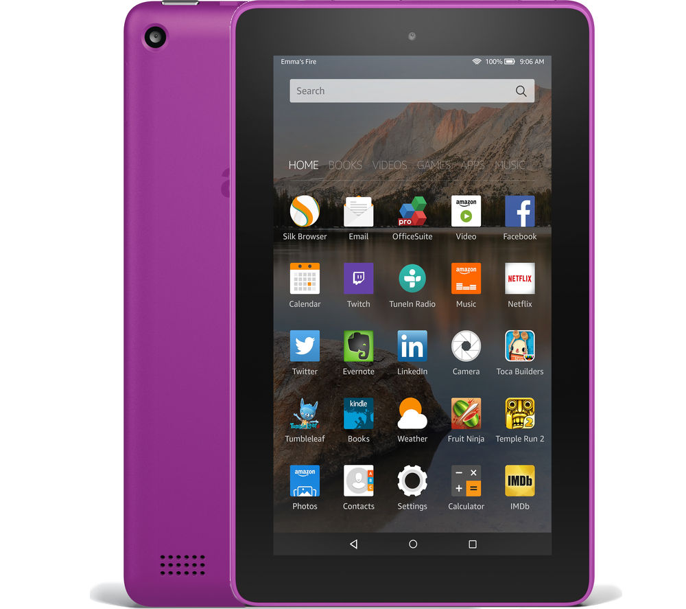 Image of Amazon Fire 7 Tablet - 16 GB, Magenta, Magenta