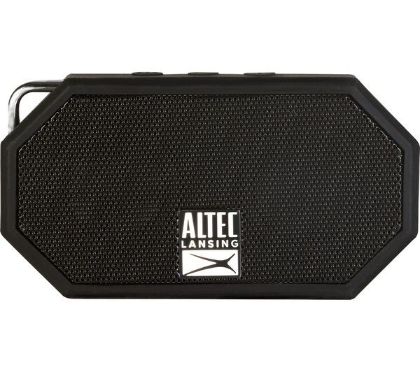 Image of ALTEC LANSING Mini H20 II Portable Wireless Speaker - Black