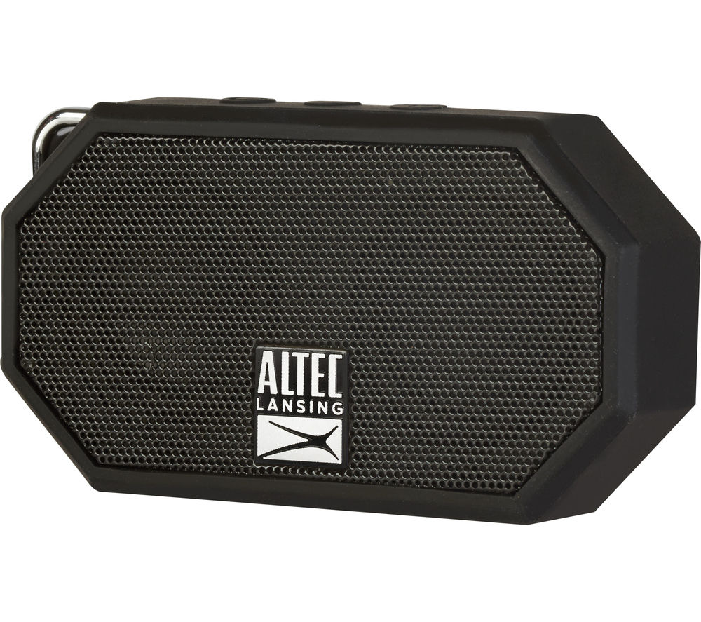 ALTEC LANSING Mini H20 II Portable Wireless Speaker - Black
