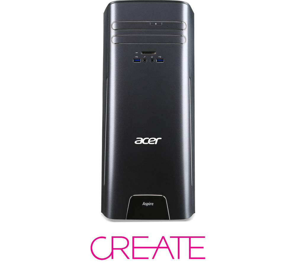 ACER Aspire T3-710 Desktop PC + Office 365 Personal + LiveSafe Unlimited 2016 + Cloud Storage Backup Service - 2 TB