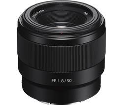 SONY FE 50 mm f/1.8 Standard Prime Lens