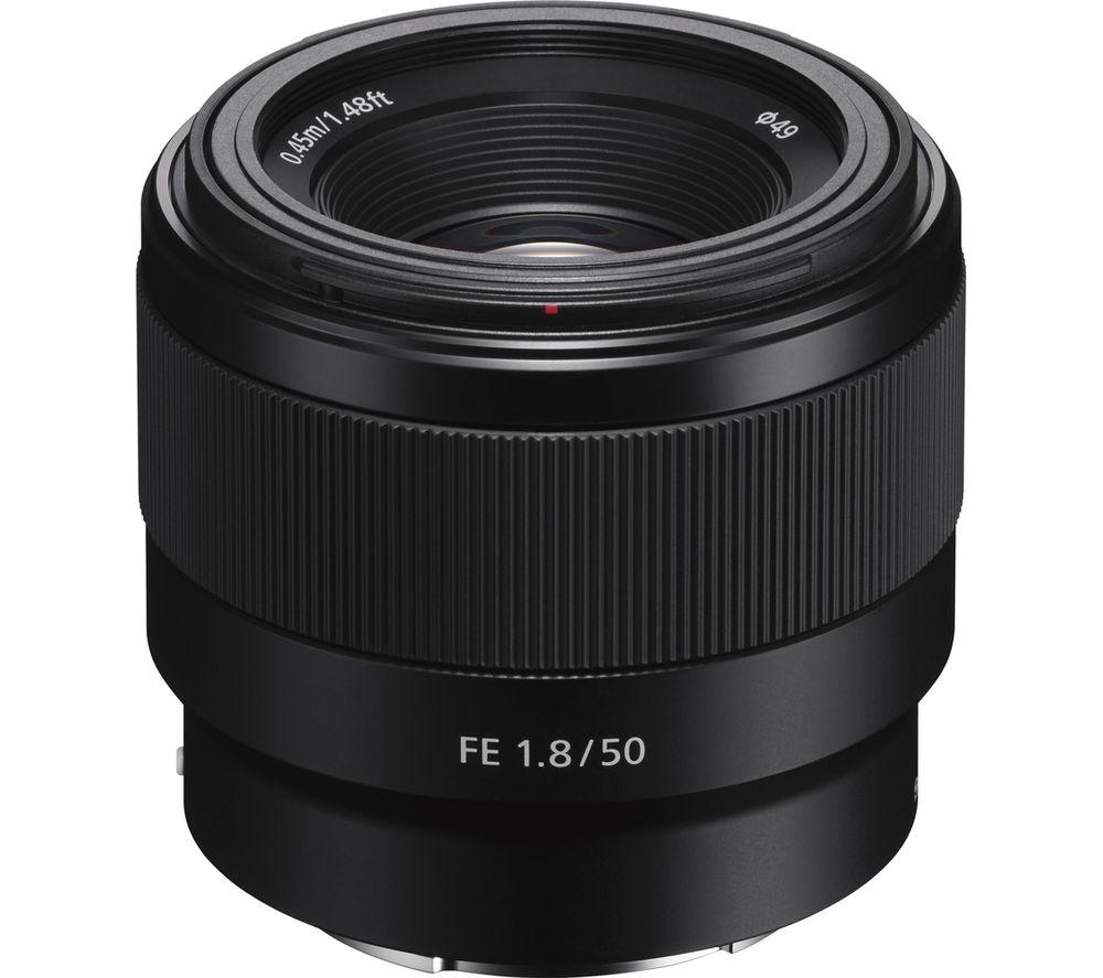 Sony SONY  FE 50 mm f/1.8 Standard Prime Lens